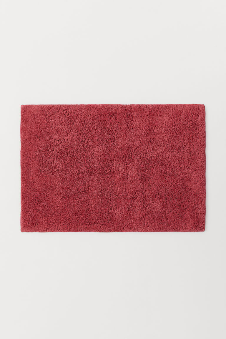 Bath mat - Dark pink - Home All | H&M GB