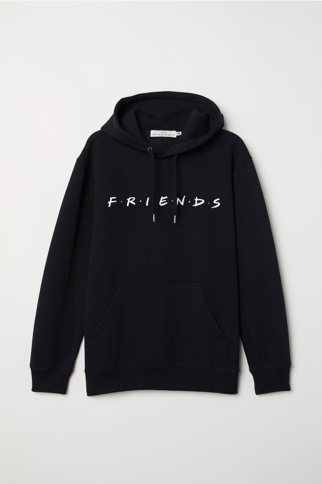Худи с рисунком - Черный/Friends - Мужчины | H&M RU 5