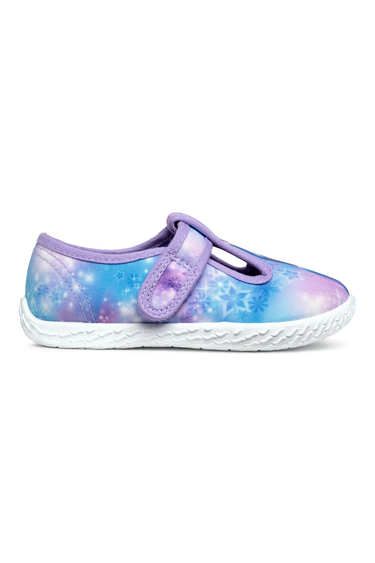 Patterned indoor shoes - Purple - Kids | H&M