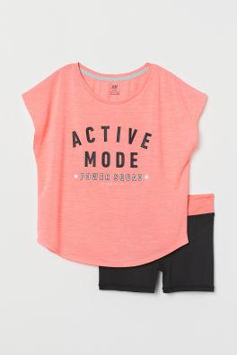 565ee5cac Ropa deportiva para niña - 8/14a - Compra online | H&M ES