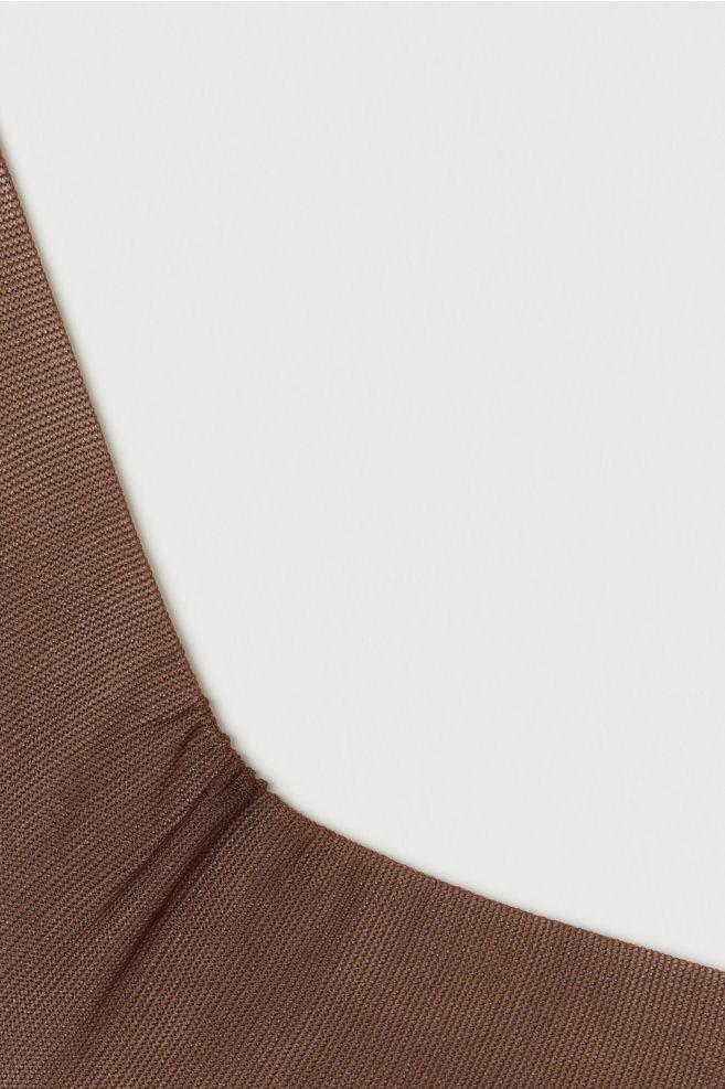 8fdb8cae264c4 2-pack 20 Denier Tights - Dark brown - Ladies | H&M ...