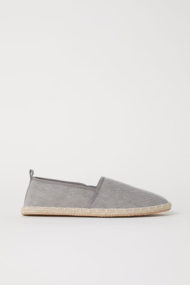 Espadrilles - Grey - Men | H&M GB