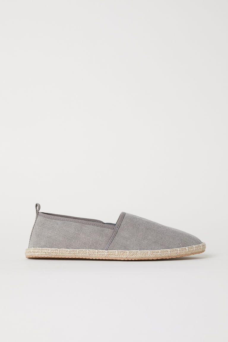 Espadrilles - Grey - Men | H&M CN