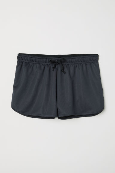 Sports shorts - Dark grey - Ladies | H&M