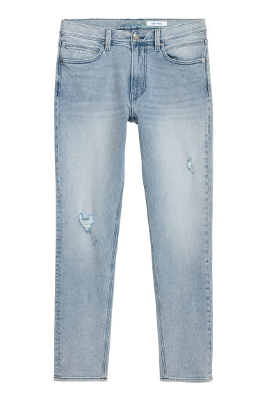360° Flex Slim Jeans - Light blue/Trashed -  | H&M