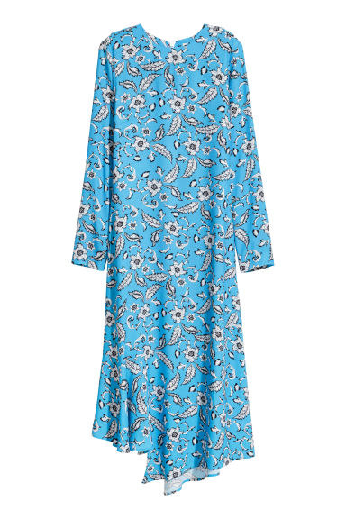 Patterned dress - Light blue/Patterned -  | H&M GB