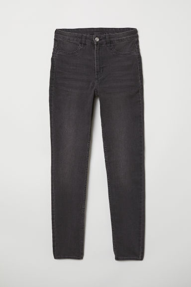 Super Skinny High Jeans - Dunkelgrau - Ladies | H&M AT