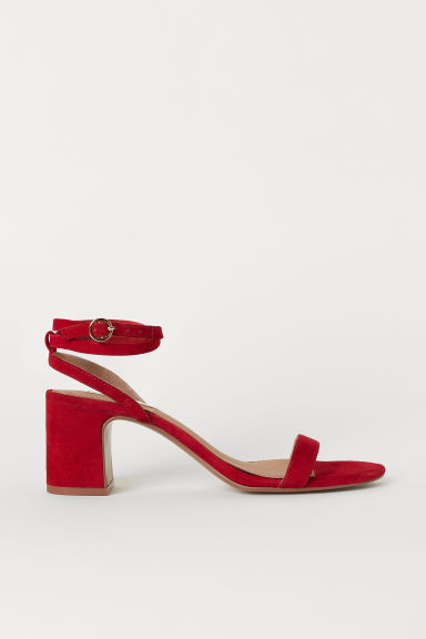 Sandalen - Rood - DAMES | H&M BE