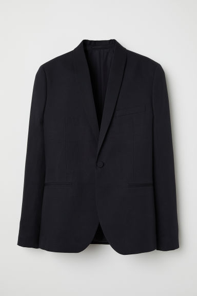 Blazer de smoking Slim fit - Noir - HOMME | H&M FR