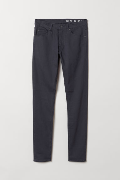 Super Skinny Jeans - Dark grey - Men | H&M CN