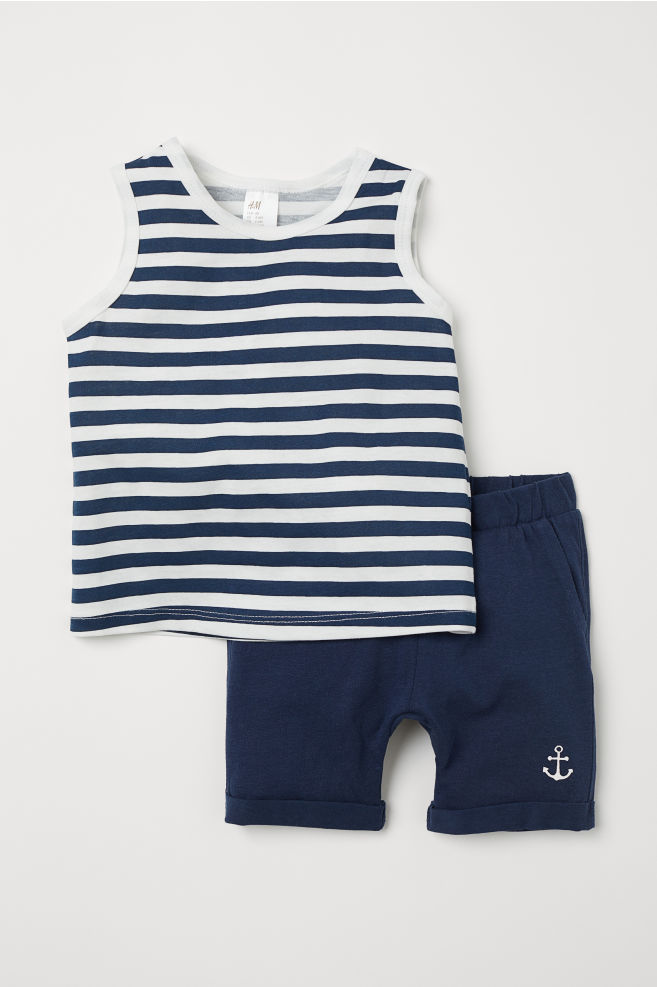 664c17eaf Vest top and shorts
