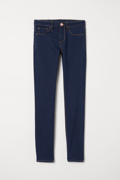 Superstretch Skinny Fit Jeans - Dark blue - Kids | H&M CN