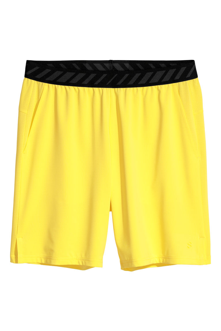 Short sports shorts - Yellow - Men | H&M