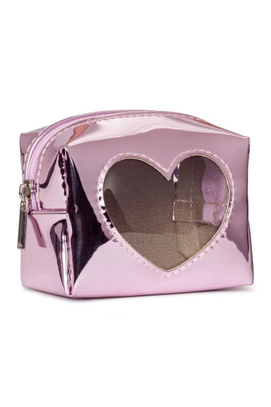Mini pouch - Purple/Heart - Ladies | H&M