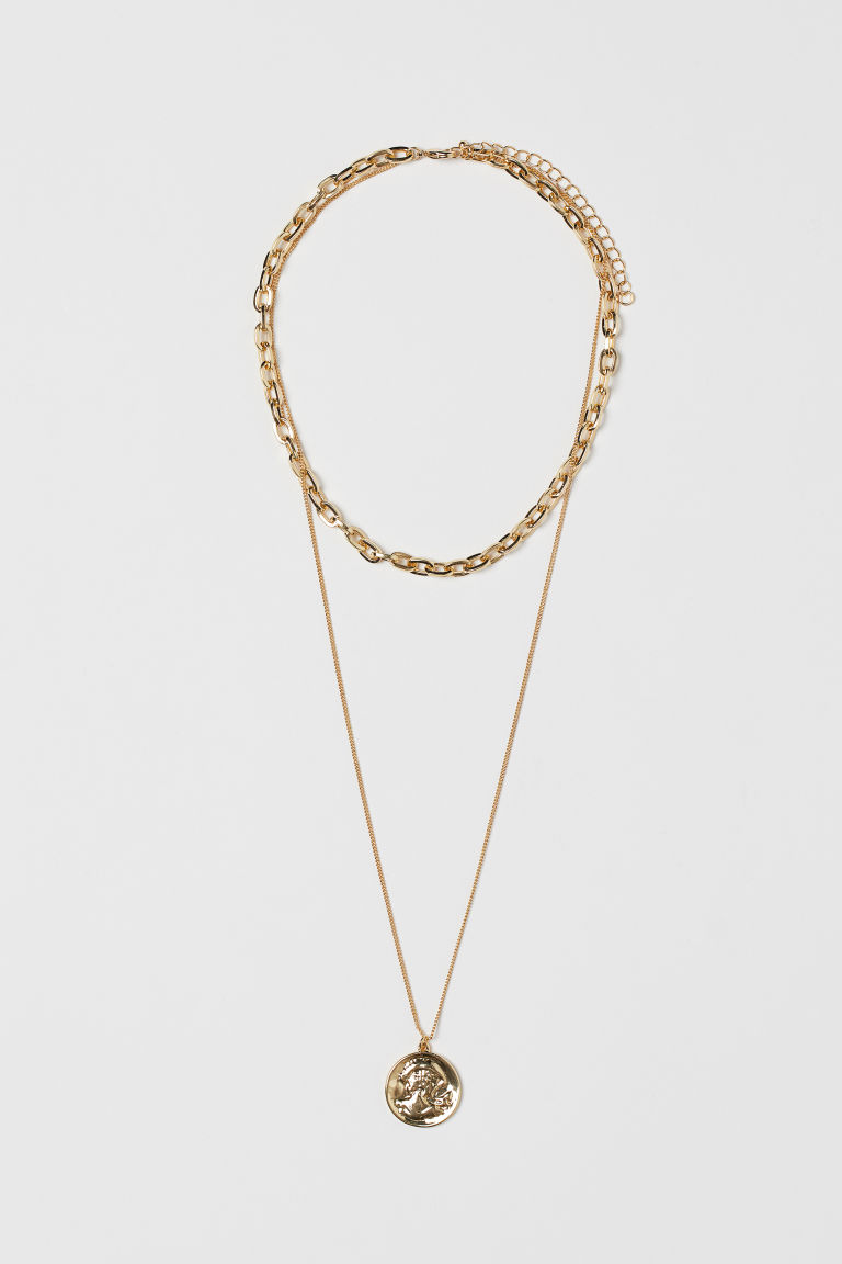 Collar de dos vueltas - Dorado - Ladies | H&M MX