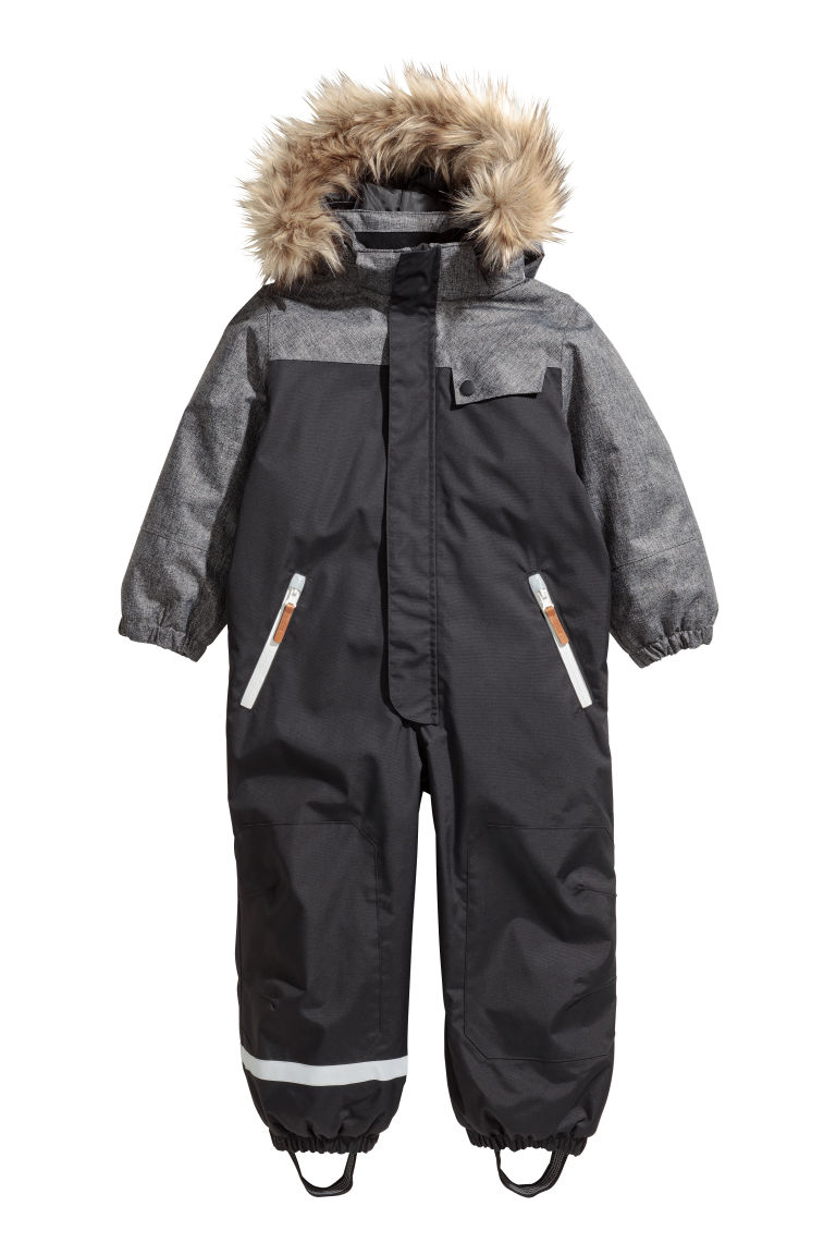 Outdoor all-in-one suit - Black - Kids | H&M