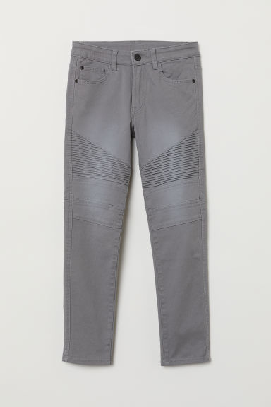 Biker trousers - Grey - Kids | H&M CN