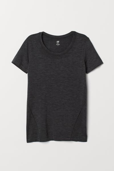 H&M - Sportshirt Seamless - 4