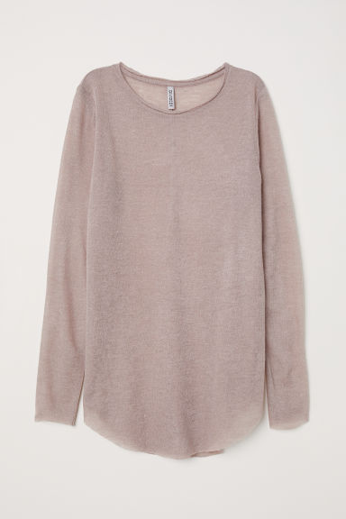 Fine-knit jumper - Mole - Ladies | H&M