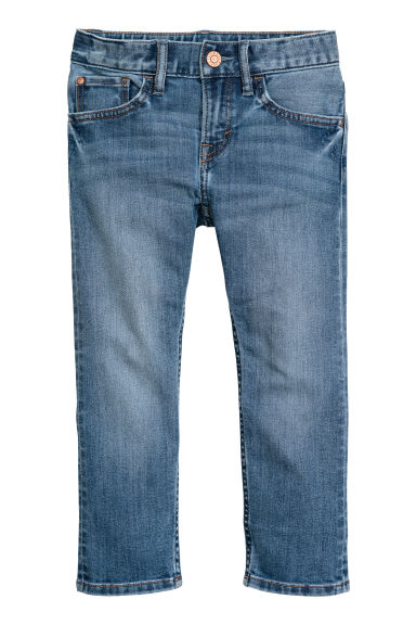 Slim Fit Jeans - Deniminsininen - Kids | H&M FI