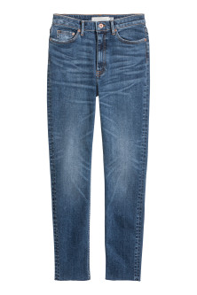 Slim Ankle High JeansModell