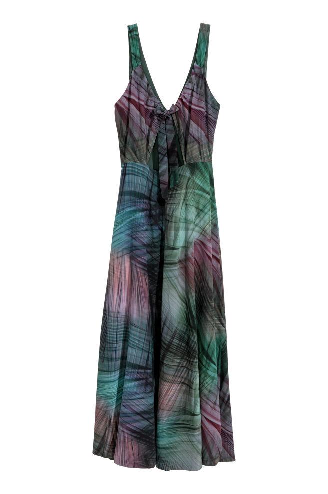 2a8d8b8cc822 Dlhé hodvábne šaty - viacfarebná - ŽENY