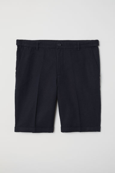 Chino shorts Skinny Fit - Dark blue -  | H&M CN