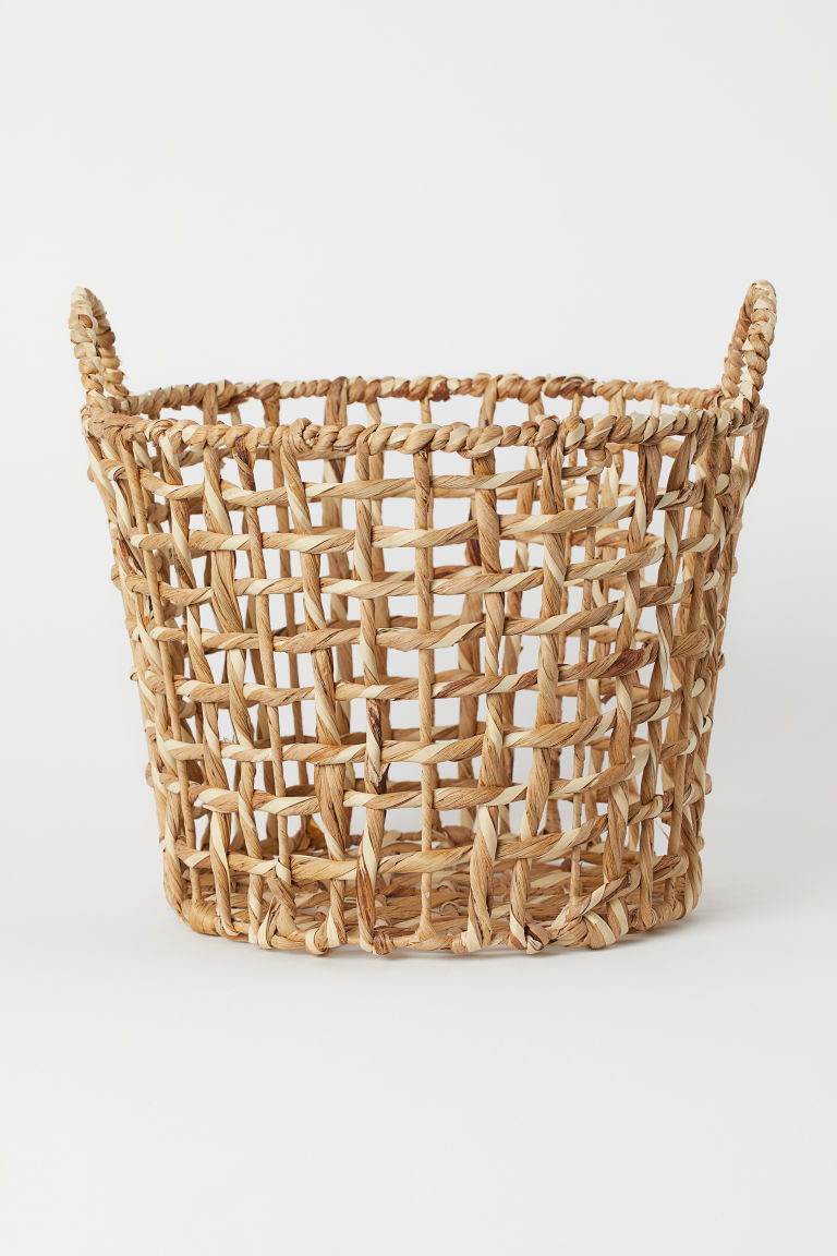Storage Basket - Natural - Home All | H&M US