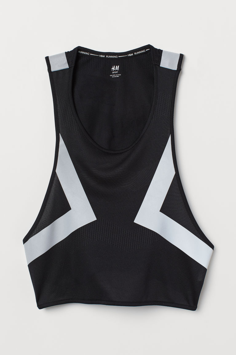 Gilet da running riflettente - Nero -  | H&M IT