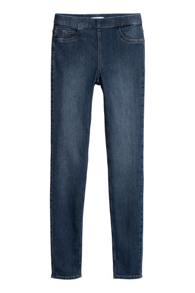 Superstretch tregging - Blauw - DAMES | H&M BE