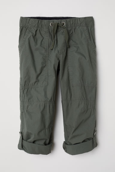 Cargo trousers - Khaki green - Kids | H&M