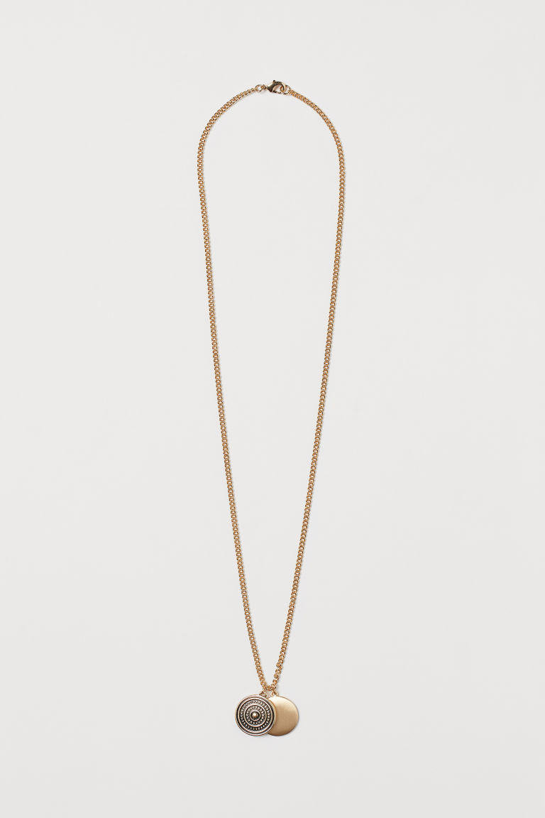 Necklace with pendants - Gold-coloured - Men | H&M