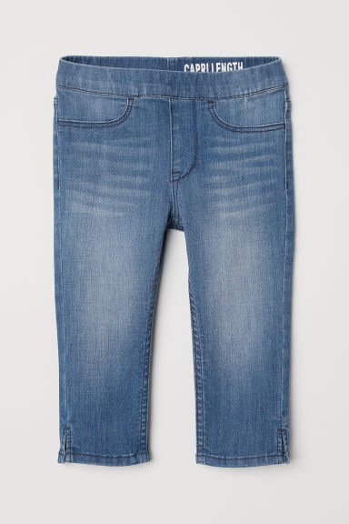 Leggings capri en denim - Azul denim - NIÑOS | H&M ES