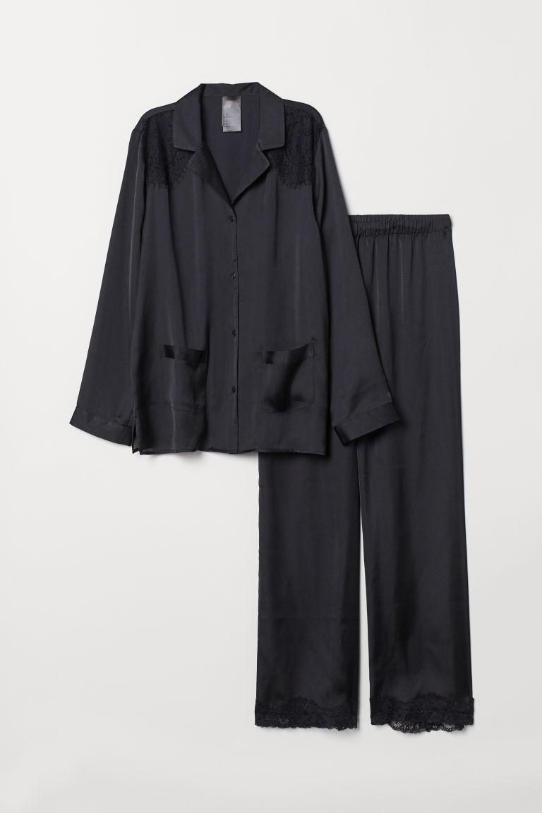 verschiedene Stile neu authentisch heiß-verkaufende Mode Zweiteiliger Pyjama