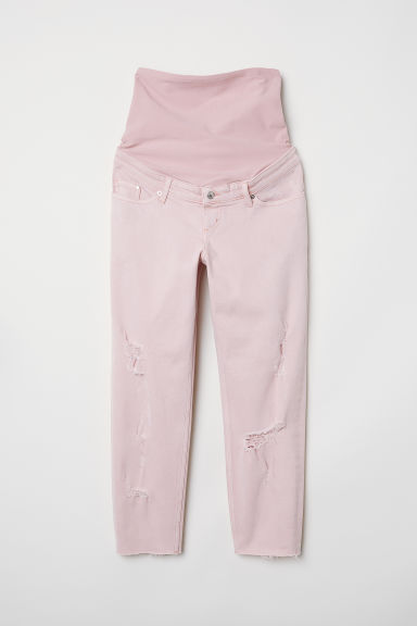MAMA Boyfriend Jeans - Light pink - Ladies | H&M CN