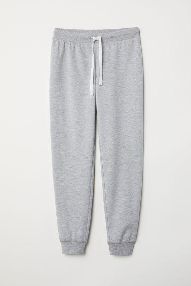 Pyjama bottoms - Light grey marl - Ladies | H&M CN