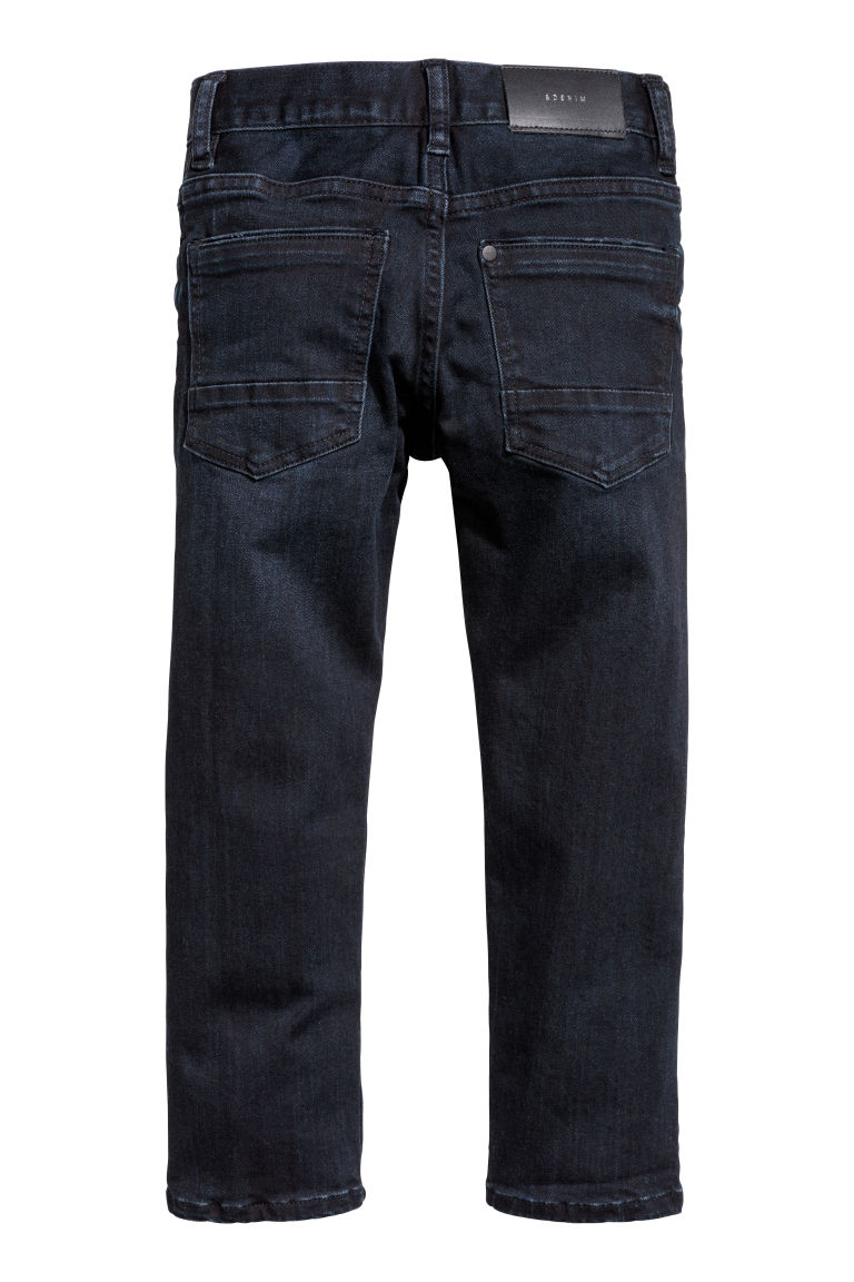 Superstretch Slim fit Jeans - 深蓝色 - Kids | H&M CN