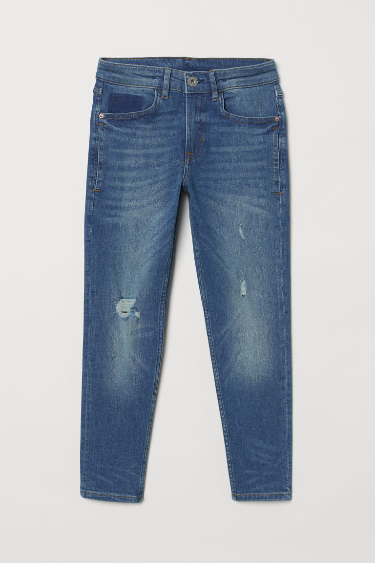 Relaxed Tapered Fit Jeans - Denim blue - Kids | H&M
