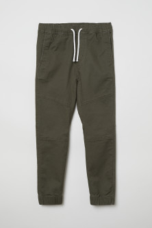 Generous Fit Pull-on trousers