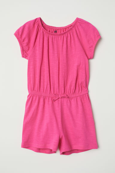 Jersey playsuit - Cerise - Kids | H&M