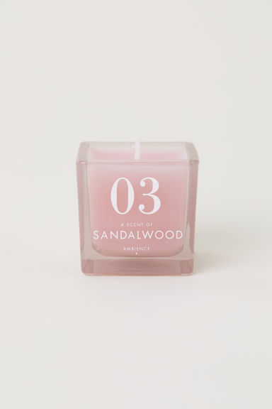 Candela profumata in vasetto - Rosa chiaro/Sandalwood -  | H&M IT
