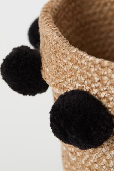 H&M - Storage basket with pompoms - 2