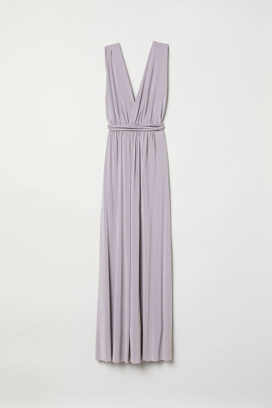 Multiway long dress - Heather purple - Ladies | H&M CN