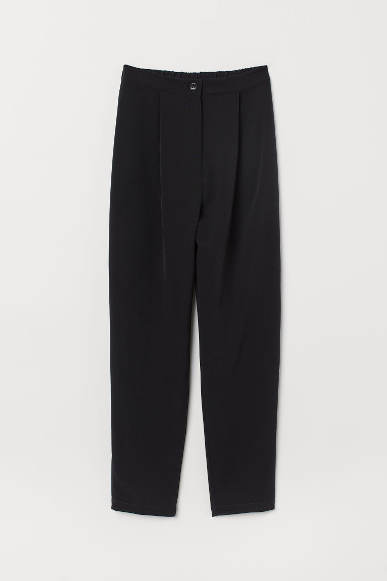 Tailored trousers - Black -  | H&M