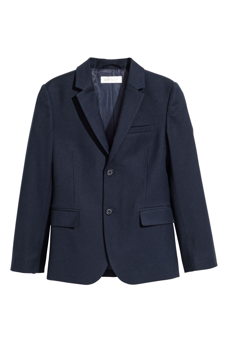 Classic jacket - Dark blue - Kids | H&M CN