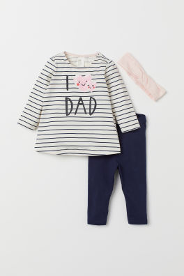 c0b27e030 Baby Girl Clothes - Shop for your baby online | H&M US