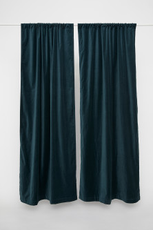 2-pack Velvet Curtain Panels
