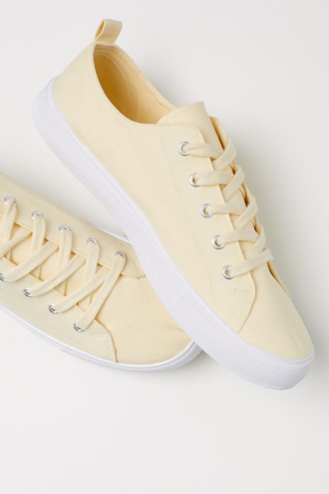 9de1fcfa Płócienne buty sportowe - Biały - ONA | H&M PL