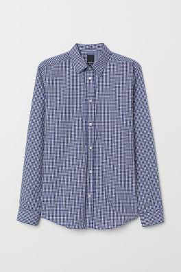 eff93c83b Camisa Easy-iron Slim fit