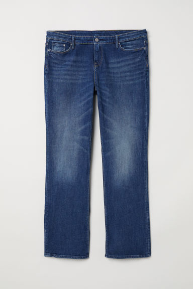 H&M+ Bootcut Regular Jeans - Dark denim blue - Ladies | H&M CN
